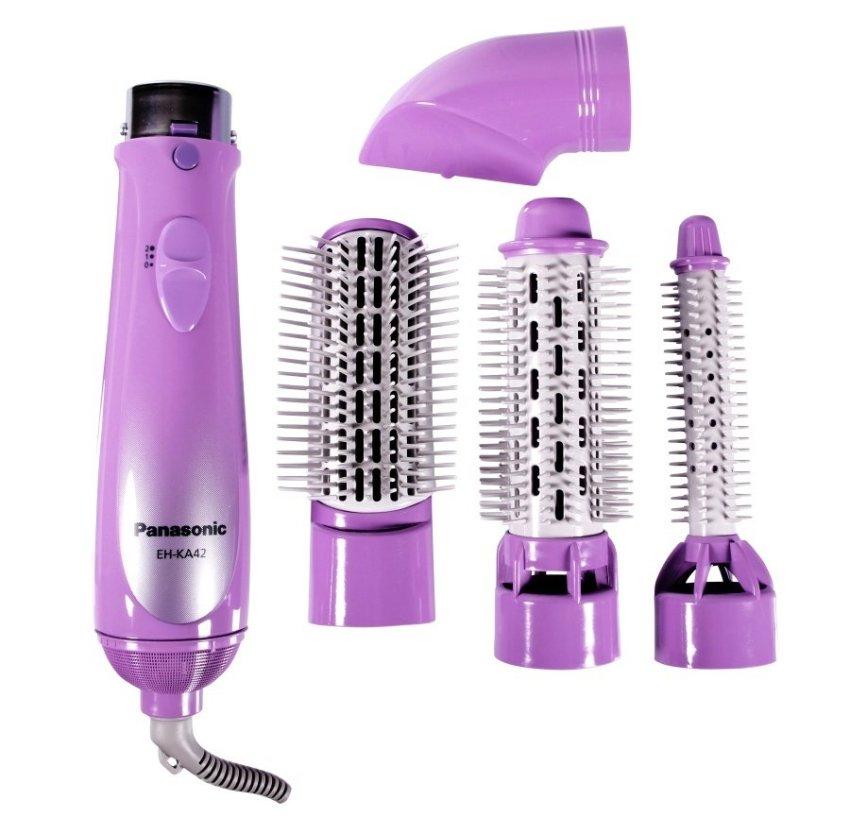 harga Panasonic Hair Styler EH-KA42 Violet Lazada.co.id