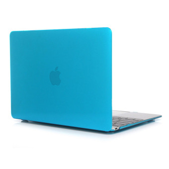 Laptop Hard Case For Apple MacBook Air 13.3 Inch Crystal Protective Cover Case(Lake Blue) - Intl