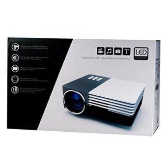 TS-50 High Definition LED Projector with AV VGA USV SD HDMI Micro USB Interfaces (Intl)
