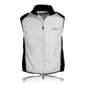 Cycling Vest Jersey for Men Sleeveless Gilet Top (Intl)