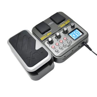 NUX MG-100 Modeling Guitar Processor Guitar Effect Pedal Drum Tuner Recorder 58 Effect 72 Preset Multi-function (Intl)