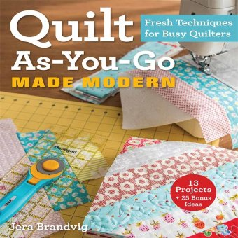 C&T PUBLISHING Quilt As-You-Go Made Modern