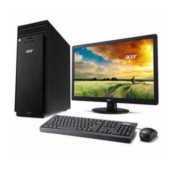 Acer Aspire TC707 - Intel® Pentium® Processor G3260 - 2GB - 500 GB - DOS - Hitam