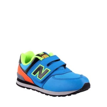 harga New Balance 574 Kids Shoes - Blue Lazada.co.id