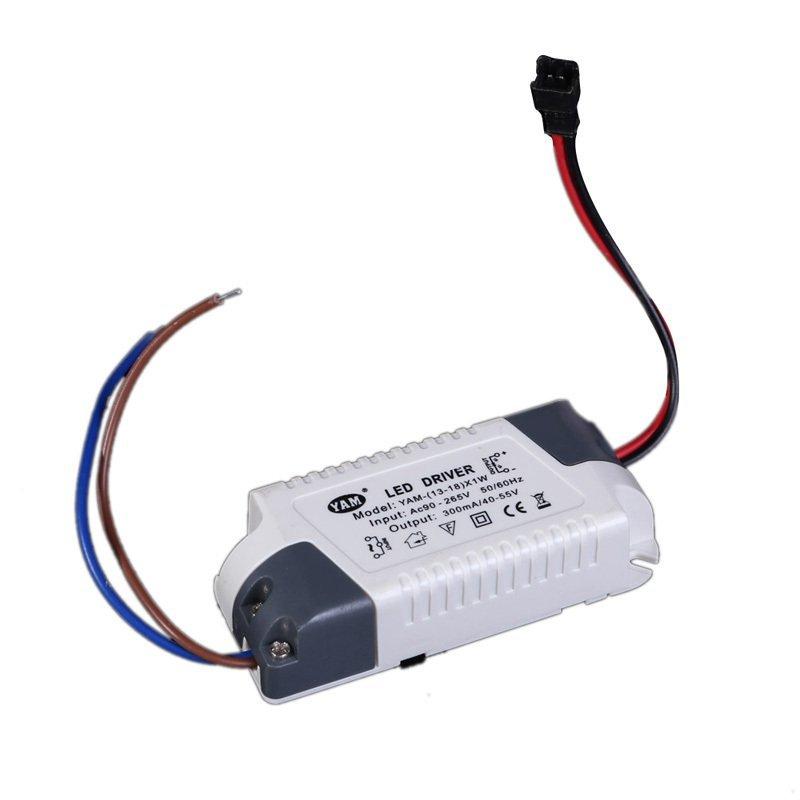 harga AC 90-265V Electronic Transformer Hardwire LED Driver Power Supply Lazada.co.id