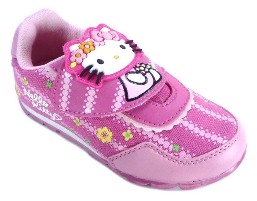 Ando Hello Kitty Ribbon & Flower Sepatu Anak Balita - Fuchsia