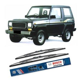 harga Bosch Sepasang Wiper Kaca Mobil Daihatsu Hiline Advantage 17 & 17 - 2 Buah/Set - Hitam Lazada.co.id