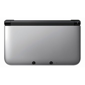Nintendo 3DS XL Package Silver X Black