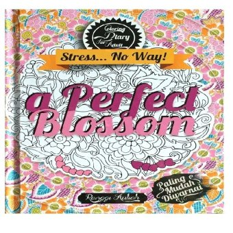 Uranus Savana Books - Coloring Diary For Adult : A Perfect Blossom