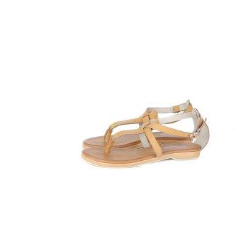 harga Lagenza Casual Sepatu Sandal Trendy Wanita Lgr 449 [Coklat] Lazada.co.id