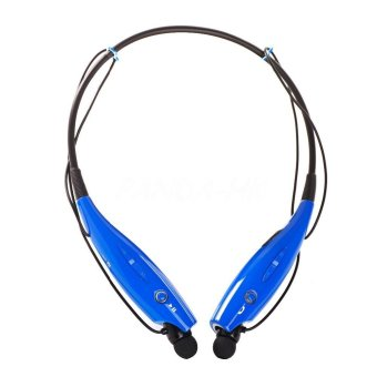 Sports Wireless Bluetooth Headset Headphone (Blue) (Intl)