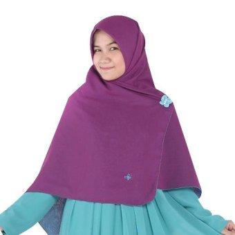 harga Hijab Alila Gamis Neo Perdana - Ungu Lazada.co.id