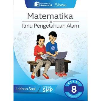 PesonaEdu Koleksi Soal Digital - Asesmatik Siswa Matematika & IPA Kelas 8