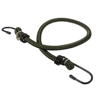 New 18inch Elastic Bicycle Motorcycle Bungee Strap Luggage Cords Rope Hooks - Intl