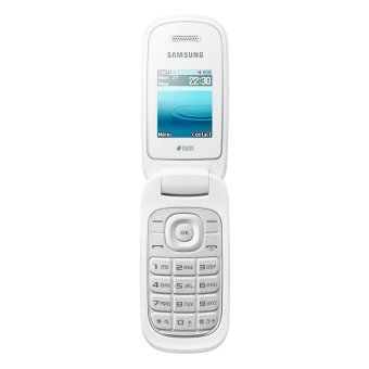 Samsung Caramel GT-E1272 Dual SIM - 32 MB - Putih