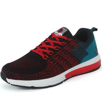ZHAIZUBULUO Men's BT753 Breathable Sports Running Shoes (Red) - Intl