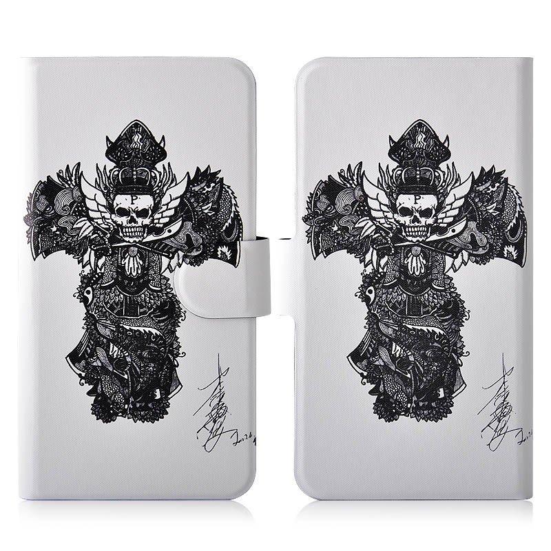 harga Sketch Black Skull PU Leather New Flip Case Cover For LG Optimus G Pro E980 F240 F240K F240S E988 Lazada.co.id