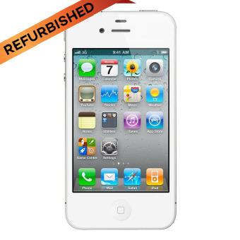 Refurbished Apple iPhone 4 - 16GB - Putih - Grade A