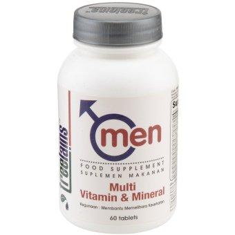 Treelains Men Multivitamin dan Minerals - 60 Tablet