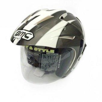 Harga BMC Helm Fuji Half Face #02 Double Visor Terbaru - Review Ulasan Spesifikasi Lengkap - Cek Harga Terbaru 2018
