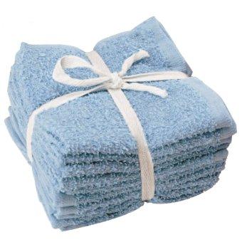JYSK   Lap   Face Cloth Price Star 10 pcs/pck   Biru Harga Murah   image 429752 1 product
