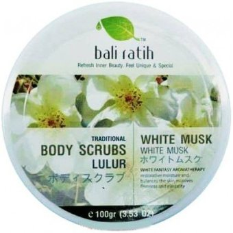Bali Ratih Body Scrub - White Musk