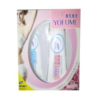 Yofume Cream Perontok dan Penghilang Bulu Permanen