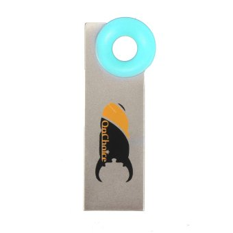 ONCHOICE 16GB USB 2.0 Keychain Flash Memory Stick Pen Drive Storage Thumb U Disk Blue (Intl)