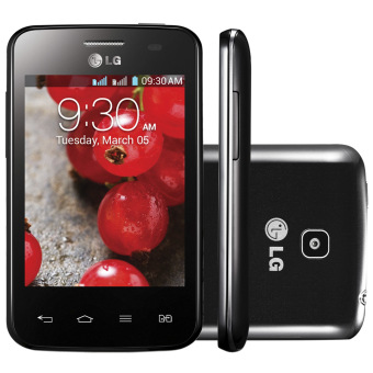 LG Optimus L3 II E435 Dual - Hitam
