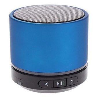 Mini Super Bass Portable Bluetooth Speaker - S11 - Biru