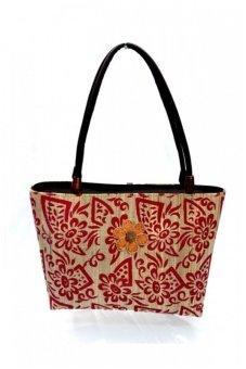 Djogja Klasik Craft Pelepah Batik - Merah