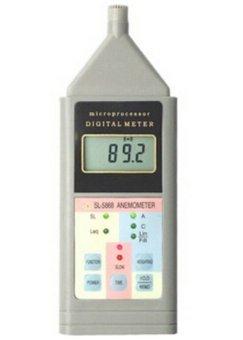 harga Landtek sound level meter SL5868 ( noise meter ) SL-5868 Sound Level Meter / decibel meter manual shift Lazada.co.id
