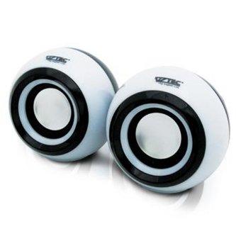 Vztec Mini Digital Speaker USB2.0 - Putih