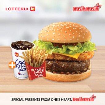 Lotteria Blackpepper Bulgogi Burger