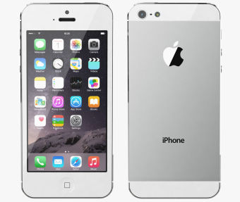 Refurbished Apple iPhone 5 - 32 GB - Putih - Grade A