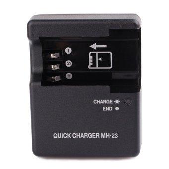 harga EN-EL9a Battery & MH-23 Charger F Nikon DSLR D40 D40x D60 D3000 D5000 Kit Camera-European regulations Lazada.co.id