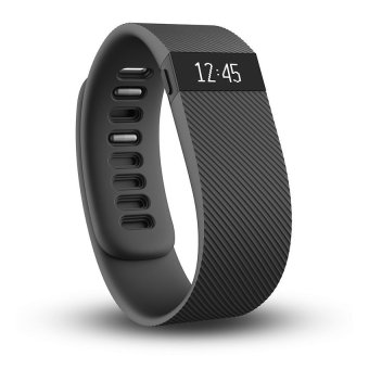 Fitbit Charge Wireless Activity Wristband (Black) (Intl)