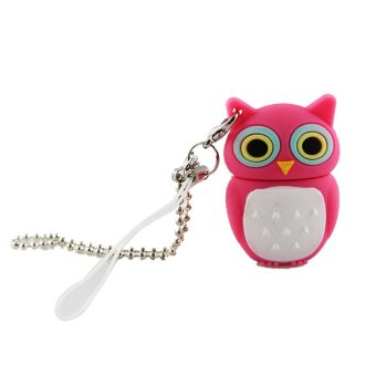 S & F Buytra 8GB Pendrive Pink Owl Model USB2.0 - Intl