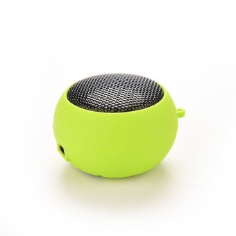 Hamburger Speaker Amplifier Mini Portable Green - Intl
