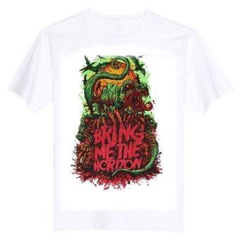 BRING ME THE HORIZON SNAKE SUICIDE SILENCE EMMURE 100% Cotton O Neck Camiseta Unisex Short Sleeve T Shirt - INTL