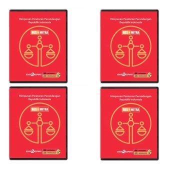 RGSMitra DVD Data Himpunan Peraturan Perundangan - 4 Pcs