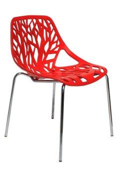 harga IKONS Furniture Olivia Kursi Plastik - Red Lazada.co.id