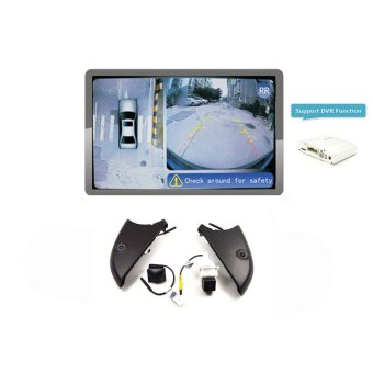 Velecs WBA02522 360 Around View Parking Assist for Mercedes-Benz E-class (small logo) Car with DVR function Bird's-eye View replacement for backup cameras - VX-BZ307 - Intl