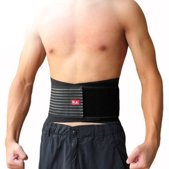 Kuangmi Sport Body Protector Fitness Breathable Waist Trimmer Belt(Breathable Edition) - L/XL (Intl)