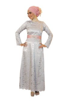 harga Cantique Cq 1418 Gamis Brukat Ibu Menyusui - Abu-abu Lazada.co.id