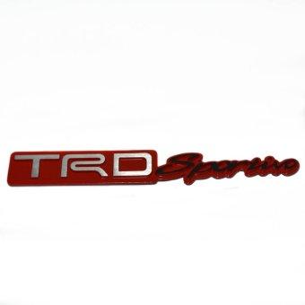 Jason Emblem Mobil TRD Sportivo Merah / Emblem Mobil / Variasi…