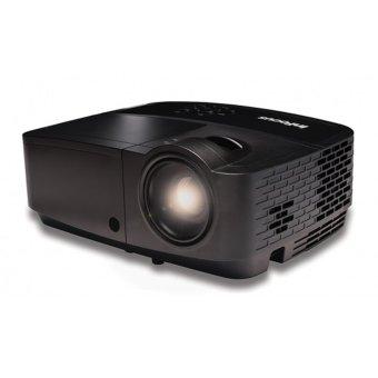 InFocus IN114x Standard DLP Projector - 3200 ANSI - XGA (1024x768) - 15.000:1 - HDMI - 3D Ready - Hitam