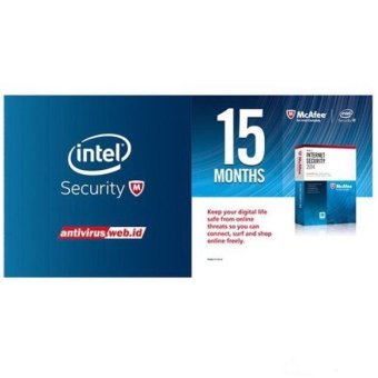 McAfee Antivirus Internet Security 15 Month - 1 User