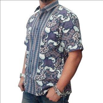 harga Djoeragan Batik Modern LK12 (Hem Kantor Pria Laki Cowo) Lazada.co.id