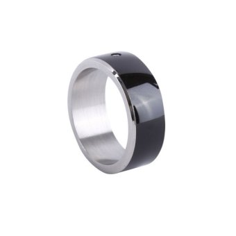 Fashion NFC Smart Ring for Android WP8 Mobile Phone-Black